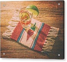 Tequila For Cinco De Mayo Acrylic Print