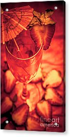 Tequila Sunrise Cocktail Acrylic Print by Jorgo Photography - Wall Art Gallery