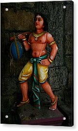 Teracotta Art Acrylic Print by Deepak Pawar