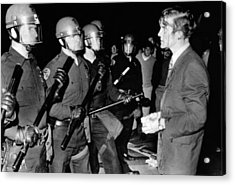 Terence Hallinan, An Activist Attorney Acrylic Print by Everett