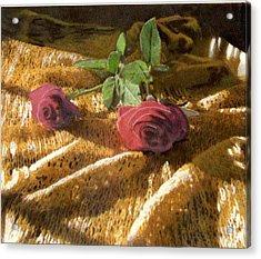 Teri's Roses Acrylic Print