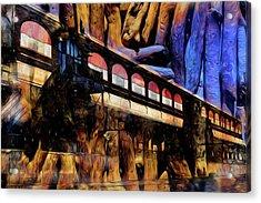 Acrylic Print featuring the photograph Terminal by Richard Ricci