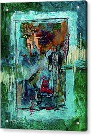 Terra Verde Acrylic Print