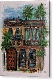 Terrace Acrylic Print