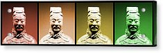 Terracotta Warrior Army Of Qin Shi Huang Di - Royg Acrylic Print