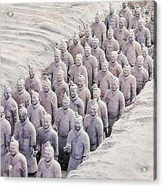 Terracotta Warriors Acrylic Print