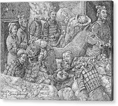 Terracotta Warriors Acrylic Print