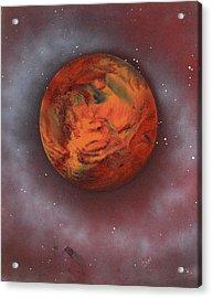 Terraform Acrylic Print