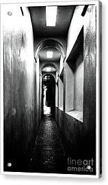 Terror Hall Acrylic Print by John Rizzuto