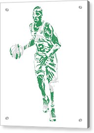 Terry Rozier Boston Celtics Pixel Art 10 Acrylic Print