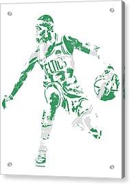 Terry Rozier Boston Celtics Pixel Art 13 Acrylic Print
