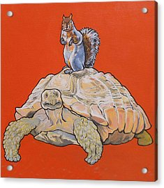 Terwilliger The Turtle Acrylic Print
