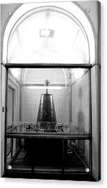 Tesla Coil Acrylic Print by Jera Sky