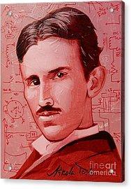 Tesla Acrylic Print