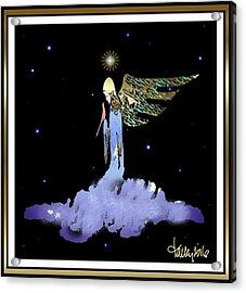 Heavenly Visit Acrylic Print