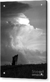 Teterville Thunderstorm Acrylic Print by Fred Lassmann