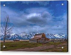 Teton National Park Mormon Row Acrylic Print