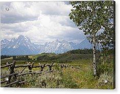 Teton Ranch Acrylic Print by Diane Bohna