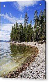 Teton Shore Acrylic Print