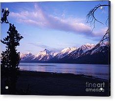 Teton Sunset Acrylic Print