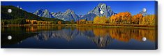 Tetons From Oxbow Bend Acrylic Print