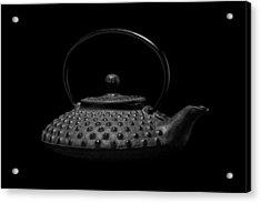 Tetsubin Teapot Acrylic Print by Tom Mc Nemar