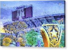 Texas Aggies Ring Acrylic Print by JC Findley