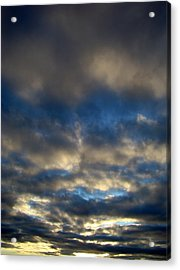 Texas Big Sky Four Acrylic Print by Ana Villaronga
