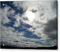Texas Blue Sky Two Acrylic Print by Ana Villaronga