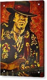 Texas Blues Man- Srv Acrylic Print