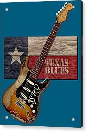 Texas Blues Shirt Acrylic Print