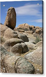 Texas Canyon Acrylic Print by Joe Kozlowski