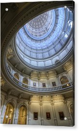 Texas Capitol Dome Interior Acrylic Print