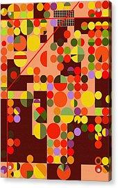 Texas Cotton Fields 4 - By Diana Van Acrylic Print by Diana Van