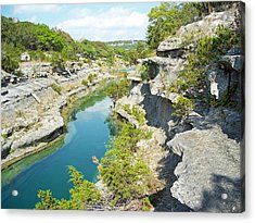 Texas Hill Country Acrylic Print by Rebecca Shupp