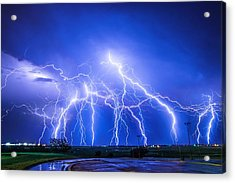 Texas Light Show Acrylic Print
