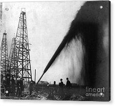 Texas: Oil Derrick, C1901 Acrylic Print