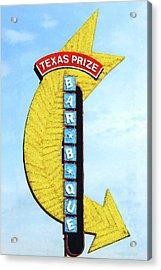 Texas Q Acrylic Print