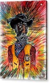 Texas Ranger Acrylic Print by Don Hand