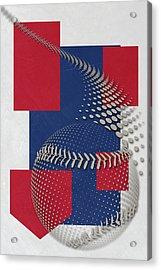 Texas Rangers Art Acrylic Print by Joe Hamilton