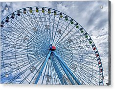 Texas Star Dallas Acrylic Print