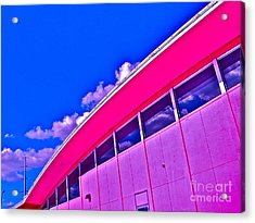Texas State Office Acrylic Print by Chuck Taylor