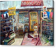 Texas Store Front Acrylic Print
