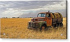 Texas Truck Ws Acrylic Print by Peter Tellone