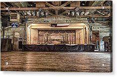 Texas Two Steppin At Gruene Hall Acrylic Print by Stephen Stookey