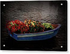 Acrylic Print featuring the photograph Texture Drama Boat Parade by Aimee L Maher Photography and Art Visit ALMGallerydotcom