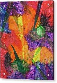 Texture Garden Acrylic Print
