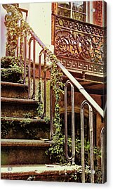 Texture Of Savannah Acrylic Print by JAMART Photography