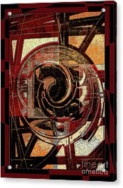 Textured Abstract Acrylic Print