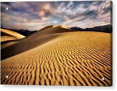 Textured Dunes  Acrylic Print
